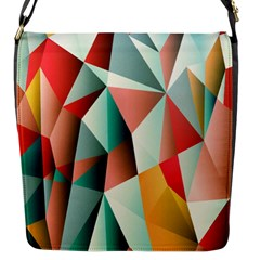 Abstracts Colour Flap Messenger Bag (S)