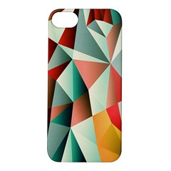 Abstracts Colour Apple iPhone 5S/ SE Hardshell Case