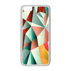 Abstracts Colour Apple iPhone 5C Seamless Case (White)
