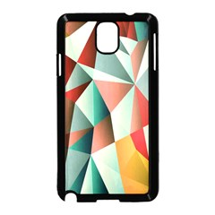 Abstracts Colour Samsung Galaxy Note 3 Neo Hardshell Case (black)