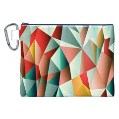 Abstracts Colour Canvas Cosmetic Bag (xxl)