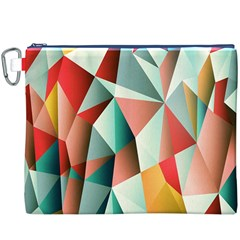 Abstracts Colour Canvas Cosmetic Bag (XXXL)