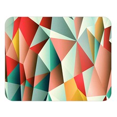 Abstracts Colour Double Sided Flano Blanket (large)