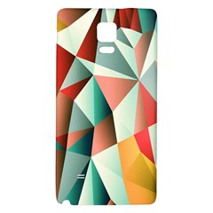 Abstracts Colour Galaxy Note 4 Back Case