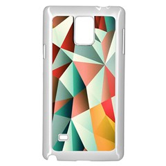 Abstracts Colour Samsung Galaxy Note 4 Case (white)