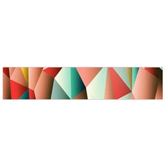 Abstracts Colour Flano Scarf (Small)