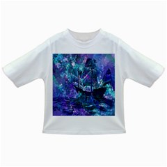 Abstract Ship Water Scape Ocean Infant/Toddler T-Shirts