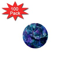 Abstract Ship Water Scape Ocean 1  Mini Buttons (100 Pack)