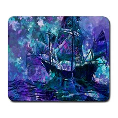 Abstract Ship Water Scape Ocean Large Mousepads