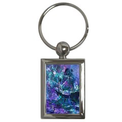 Abstract Ship Water Scape Ocean Key Chains (Rectangle)