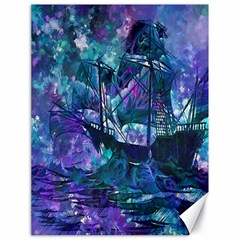 Abstract Ship Water Scape Ocean Canvas 18  X 24