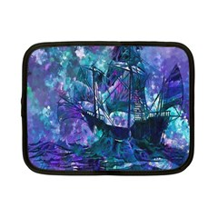Abstract Ship Water Scape Ocean Netbook Case (Small)