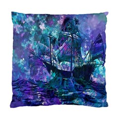 Abstract Ship Water Scape Ocean Standard Cushion Case (two Sides)
