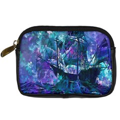 Abstract Ship Water Scape Ocean Digital Camera Cases