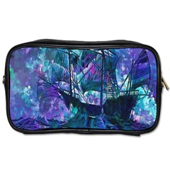 Abstract Ship Water Scape Ocean Toiletries Bags
