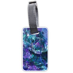 Abstract Ship Water Scape Ocean Luggage Tags (Two Sides)
