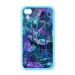 Abstract Ship Water Scape Ocean Apple iPhone 4 Case (Color)