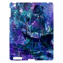 Abstract Ship Water Scape Ocean Apple iPad 3/4 Hardshell Case