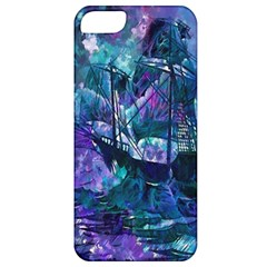 Abstract Ship Water Scape Ocean Apple iPhone 5 Classic Hardshell Case