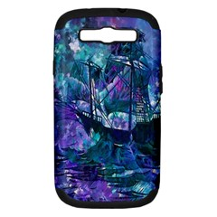 Abstract Ship Water Scape Ocean Samsung Galaxy S III Hardshell Case (PC+Silicone)