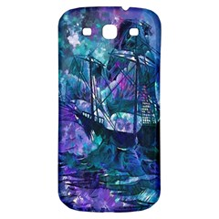 Abstract Ship Water Scape Ocean Samsung Galaxy S3 S III Classic Hardshell Back Case