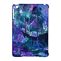 Abstract Ship Water Scape Ocean Apple Ipad Mini Hardshell Case (compatible With Smart Cover)