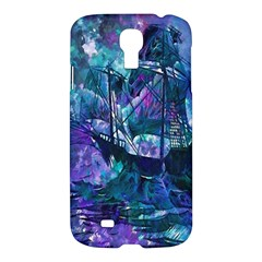 Abstract Ship Water Scape Ocean Samsung Galaxy S4 I9500/I9505 Hardshell Case