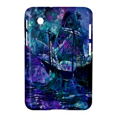 Abstract Ship Water Scape Ocean Samsung Galaxy Tab 2 (7 ) P3100 Hardshell Case