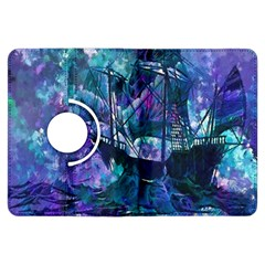 Abstract Ship Water Scape Ocean Kindle Fire HDX Flip 360 Case