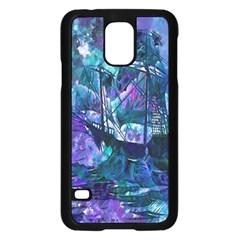 Abstract Ship Water Scape Ocean Samsung Galaxy S5 Case (black)