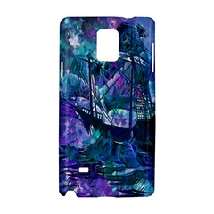 Abstract Ship Water Scape Ocean Samsung Galaxy Note 4 Hardshell Case