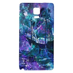 Abstract Ship Water Scape Ocean Galaxy Note 4 Back Case