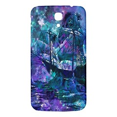 Abstract Ship Water Scape Ocean Samsung Galaxy Mega I9200 Hardshell Back Case