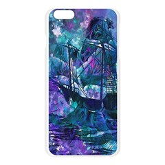 Abstract Ship Water Scape Ocean Apple Seamless iPhone 6 Plus/6S Plus Case (Transparent)