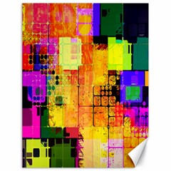 Abstract Squares Background Pattern Canvas 18  X 24