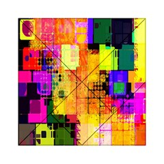 Abstract Squares Background Pattern Acrylic Tangram Puzzle (6  X 6 )