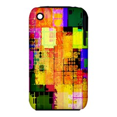 Abstract Squares Background Pattern iPhone 3S/3GS
