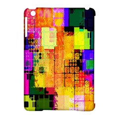 Abstract Squares Background Pattern Apple Ipad Mini Hardshell Case (compatible With Smart Cover)