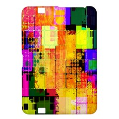 Abstract Squares Background Pattern Kindle Fire HD 8.9