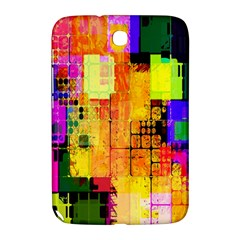 Abstract Squares Background Pattern Samsung Galaxy Note 8 0 N5100 Hardshell Case