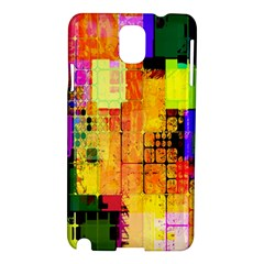 Abstract Squares Background Pattern Samsung Galaxy Note 3 N9005 Hardshell Case