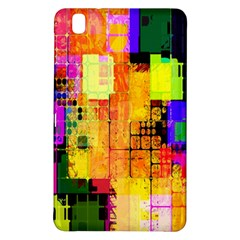Abstract Squares Background Pattern Samsung Galaxy Tab Pro 8 4 Hardshell Case