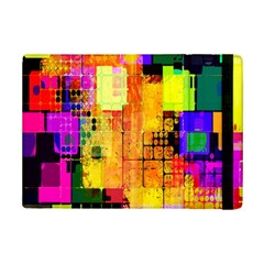 Abstract Squares Background Pattern iPad Mini 2 Flip Cases