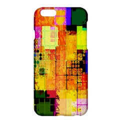 Abstract Squares Background Pattern Apple Iphone 6 Plus/6s Plus Hardshell Case