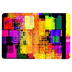 Abstract Squares Background Pattern Ipad Air 2 Flip