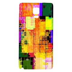 Abstract Squares Background Pattern Galaxy Note 4 Back Case