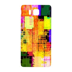 Abstract Squares Background Pattern Samsung Galaxy Alpha Hardshell Back Case