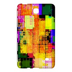 Abstract Squares Background Pattern Samsung Galaxy Tab 4 (7 ) Hardshell Case