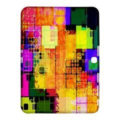 Abstract Squares Background Pattern Samsung Galaxy Tab 4 (10 1 ) Hardshell Case