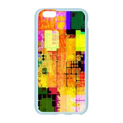 Abstract Squares Background Pattern Apple Seamless iPhone 6/6S Case (Color)